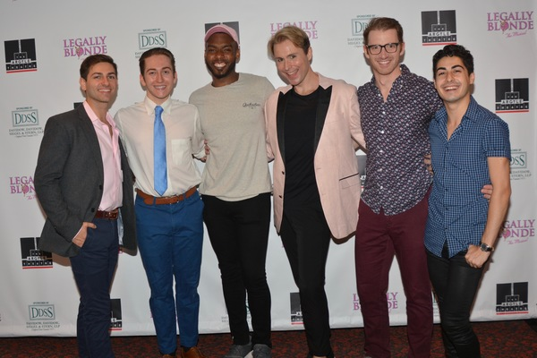 Tyler Dema, Conor J. Stepnowskim, Kwasi Perry, J Ryan Carroll, Jamie Farish and Bryce Photo