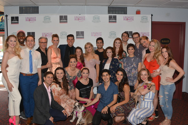The Cast of Legally Blonde at The Argyle Theatre that includes- Jill Taylor Anthony,  Photo