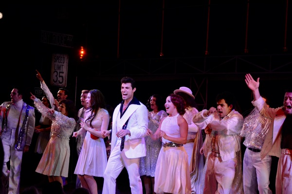 Photo Coverage: The Cast of SATURDAY NIGHT FEVER at The John W. Engeman Theater Takes Opening Night Bows