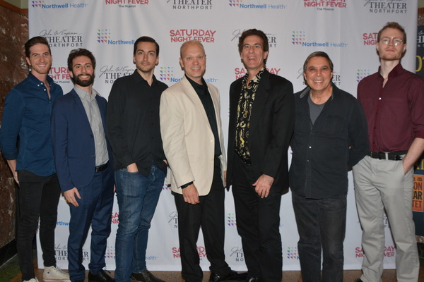 Music Director Chris Rayis with members of the band that includes-Jordan Cummingham, Robert Dalpiaz, Joel Levy, Ethan Hack-Chabot, Russell Brown and Peter Greco