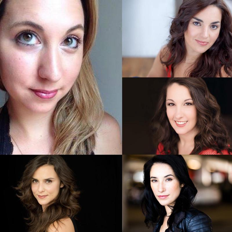 Argentinian Cast in IT'S A WOMAN THING at Hudson Guild Theatre