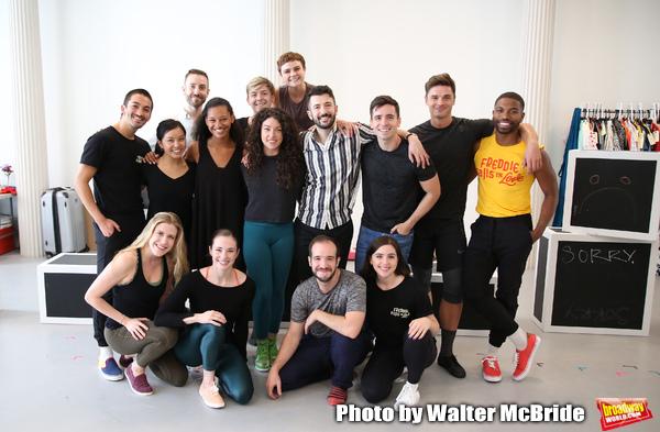 Choreographer Al Blackstone with company Photo