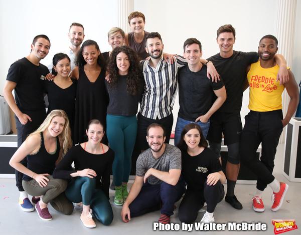 Choreographer Al Blackstone and company  Photo