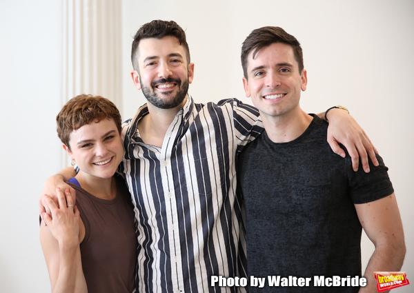 Melanie Moore, Al Blackstone and Matt Doyle  Photo