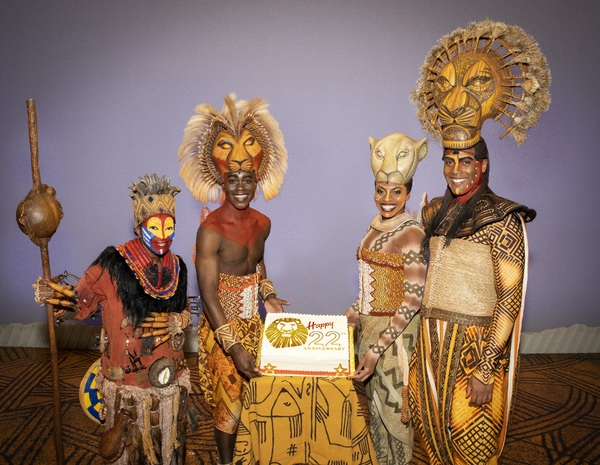 The Lion King Production Photo