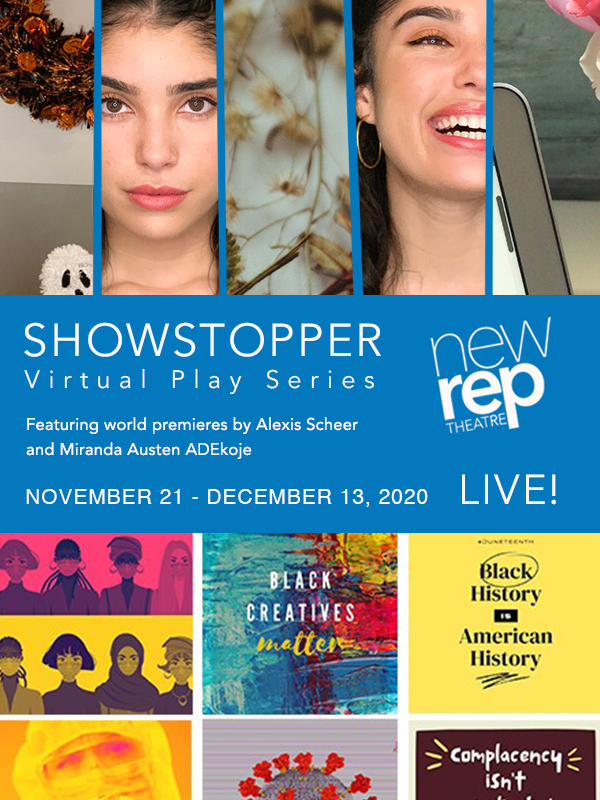 Live Premieres Virtually at New Rep