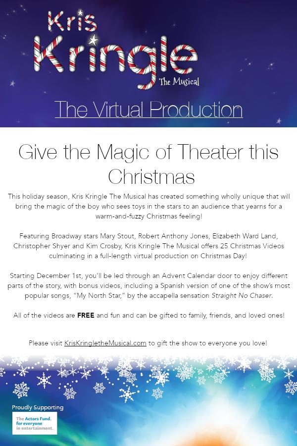 Kris Kringle The Musical - FREE Virtual Production