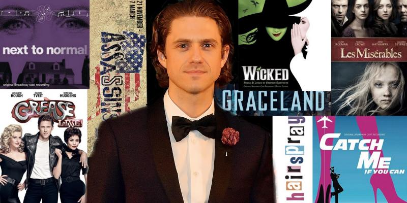 Take a Look Back on Aaron Tveit's Career As He Returns to Broadway in MOULIN ROUGE!