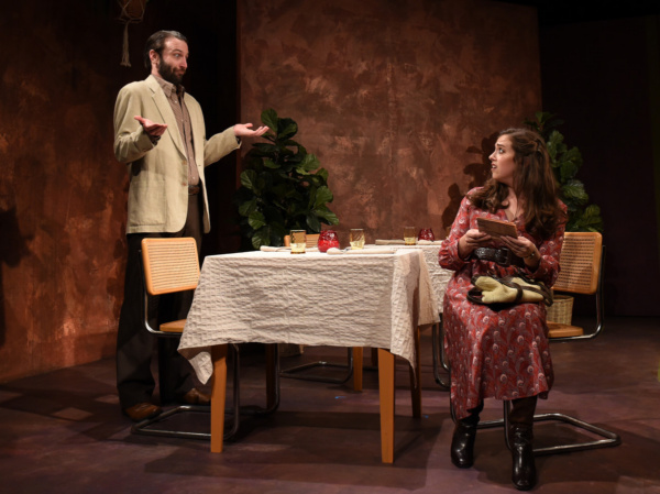 Bruce (Nick Freed) and Prudence (Devi Reisenfeld) meet on their first date in Eclipse Photo
