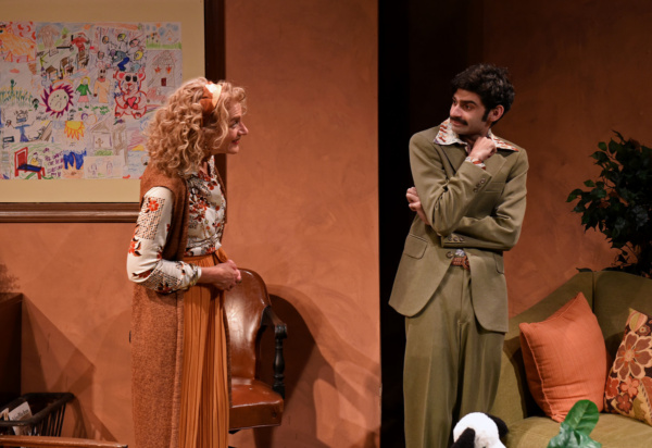Bob (Siddhartha Rajan) reluctantly finds himself in therapy with Charlotte (Lynne Bak Photo