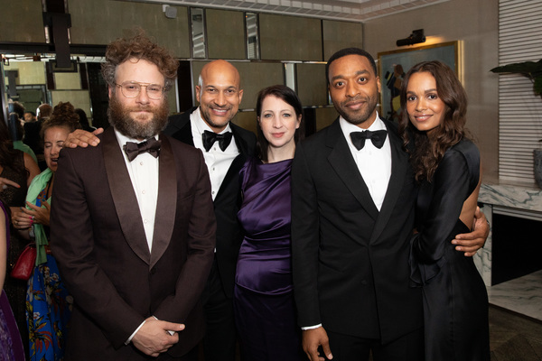 Seth Rogen, Keegan-Michael Key, Alisa Key, Chiwetel Ejiofor and Frances Aaternir Photo