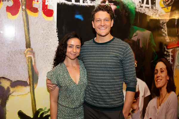 Danya Taymor and Gabriel Ebert