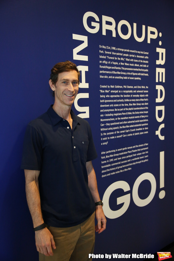 Photo Coverage: A Look Inside BLUE MAN GROUP: Ready... Go! Exhibit