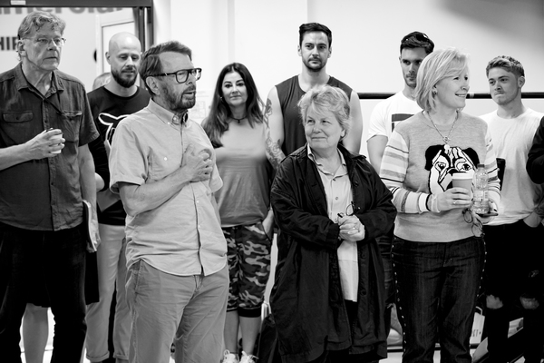 Photo Flash: ABBA's Björn Ulvaeus On Site At MAMMA MIA! THE PARTY In Rehearsal