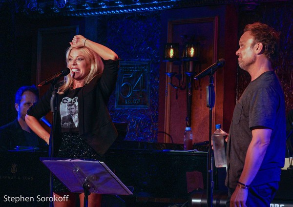 Photo Coverage: Sherie Rene Scott and Norbert Leo Butz Come to Feinstein's/54 Below