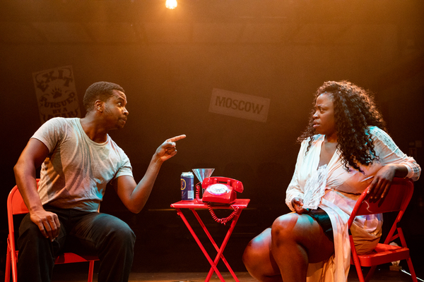 Photo Flash: THE ACTOR'S NIGHTMARE At Park Theatre