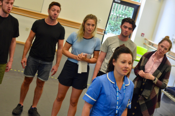 Photo Flash: Cast Of PERFECTLY ORDINARY At Hope Mill Theatre In Rehearsal