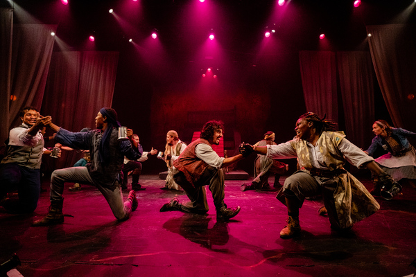 Photo Flash: First Look at TREASURE ISLAND at Synetic Theatre