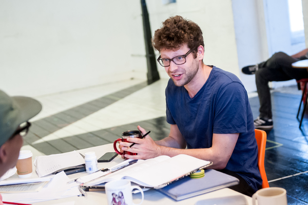 Photo Flash: In Rehearsal with Yasmin Paige and Simon Manyonda for ACTUALLY