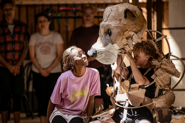 Photo Flash: In Rehearsal For MR. GUM AND THE DANCING BEAR At The National Theatre