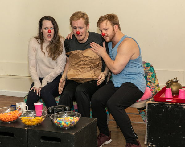 Photo Flash: In Rehearsal With DEATH OF A SHOE SALESMAN