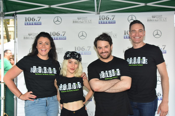 Photo Coverage: BEETLEJUICE, WAITRESS, COME FROM AWAY, CHICAGO, & JERSEY BOYS Hit The Stage At BROADWAY AT BRYANT PARK