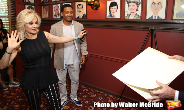 Photo Coverage: PRETTY WOMAN Star Orfeh Joins Sardi's Wall of Fame