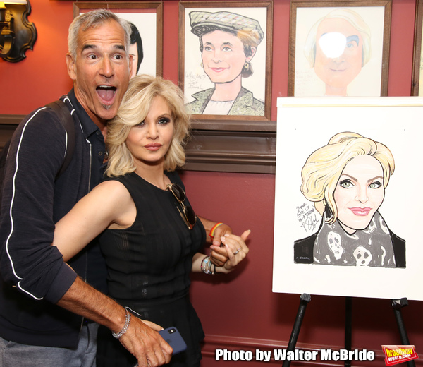 Jerry Mitchell and Orfeh