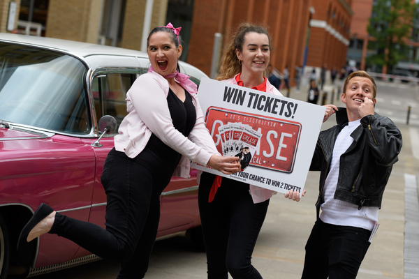 Photo Flash: Pink Cadillac Rolls Into Town in Honor of GREASE at the Birmingham Hippodrome