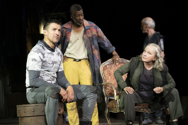 Photo Flash: First Look at The Public's CORIOLANUS