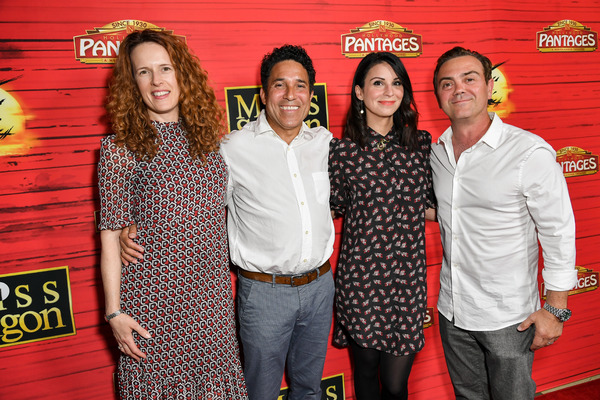 Ursula Whittaker, Oscar Nuñez, Beth Dover and Joe Lo Truglio Photo