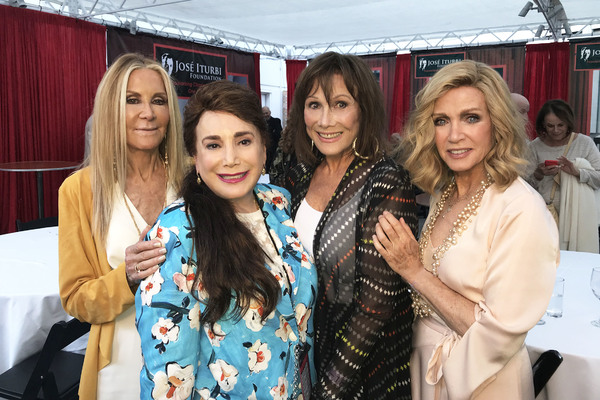 Joan Van Ark, Donelle Dadigan, Michele Lee and Donna Mills