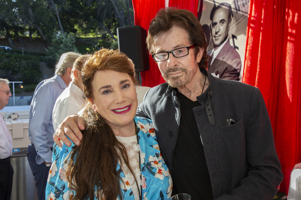Donelle Dadigan and Academy Award Winner, George Chakiris Photo