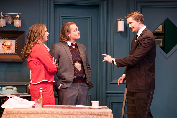Photo Flash: First Look at BOEING BOEING at the Dorie Theatre