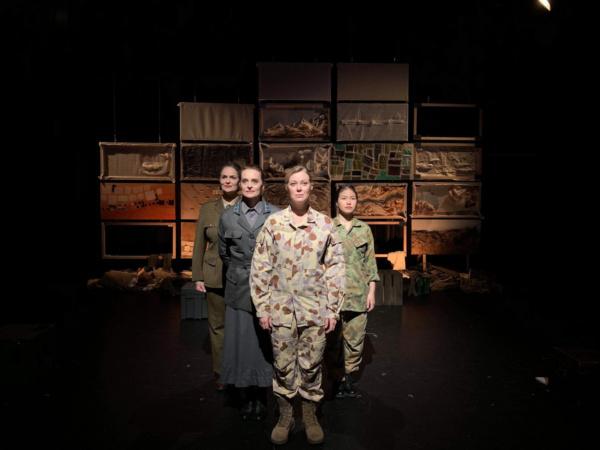 Photo Flash: First Look at HALLOWED GROUND at Edinburgh Fringe