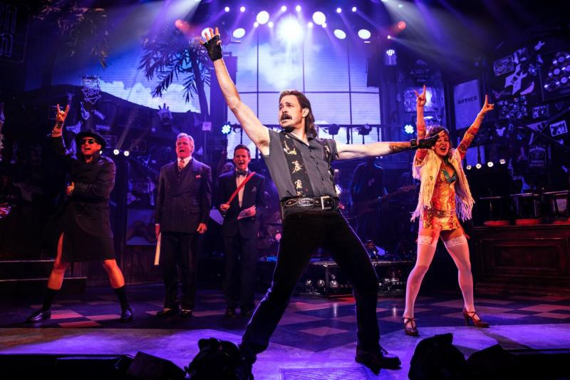 BWW Review: Mitchell Jarvis Returns To ROCK OF AGES in 10th Anniversary Production