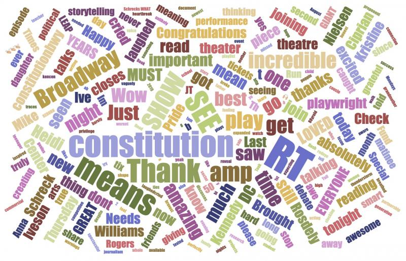 INDUSTRY: Social Insight Report - July 22nd - HADESTOWN & WHAT THE CONSTITUTION MEANS TO ME Top Growth
