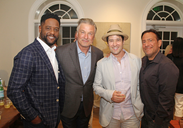 Blair Underwood, Alec Baldwin, Rob Morrow, and Eugene Pack