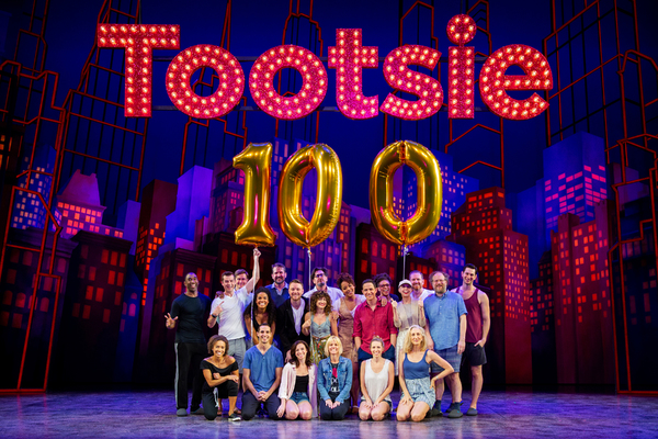 Photo Coverage: TOOTSIE Celebrates 100th Performance on Broadway
