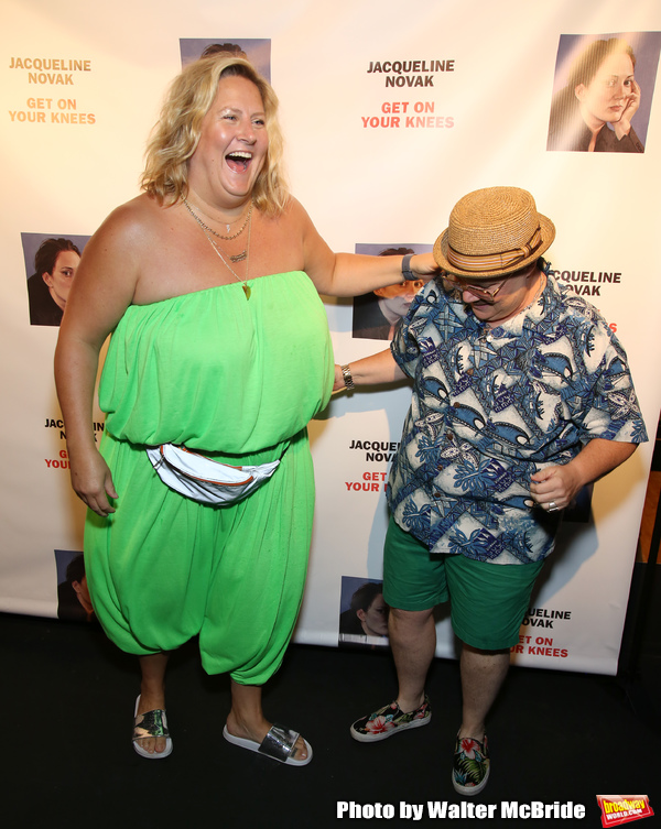 Bridget Everett and Murray Hill