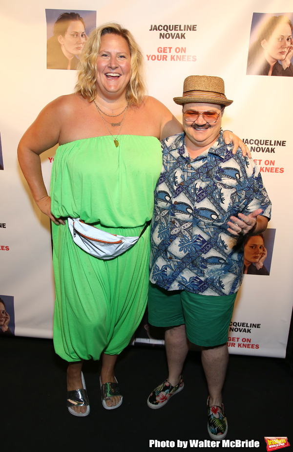 Bridget Everett and Murray Hill  Photo