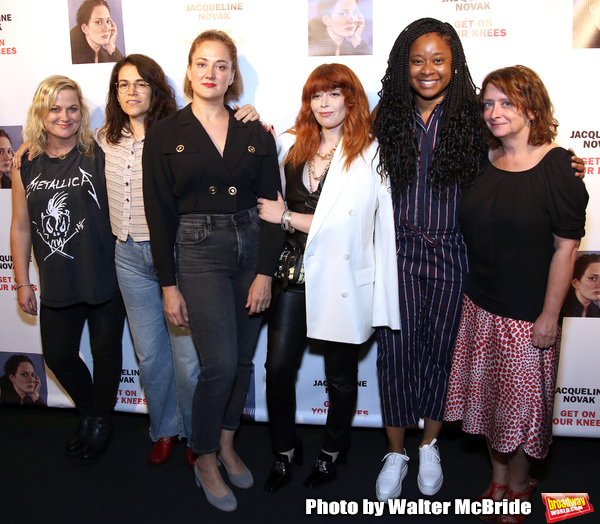 Amy Poehler, Abbi Jacobson, Jacqueline Novak, Natasha Lyonne, Phoebe Robinson and Rac Photo
