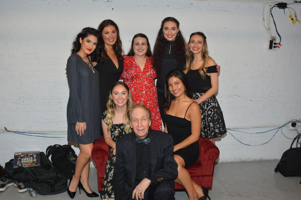 Scott Siegel with Didi Romero, Gabrielle Baker, Luana Psaros, Bettina Lobo, Victoria Kemp, Esmeralda Garza and Mara Friedman