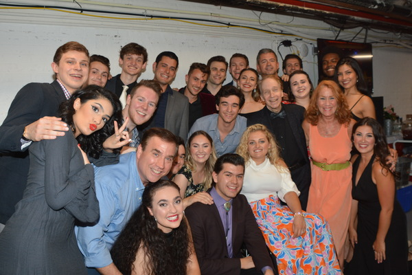 Ali Stroker, Scott Siegel, Sue Delano (Choreographer) and Bill Daugherty (Vocal Coach) with tonights cast-Gabrielle Baker, Jack Brinsmaid, Christoper Brian, John W. DiCaro, John Drinkwater, Matthew Drinkwater, Mara Friedman, Brian J. Gabriel, Ada V. Gallegos, Esmeralda Garza, Jonathan Heller, Victoria Kemp, Bettina Lobo, Tyler McCall, Albert Nelthropp, Cameron Nies, Luana Psaros, Jacob Roberts-Miller, Didi Romero and Jared Adrian Williams