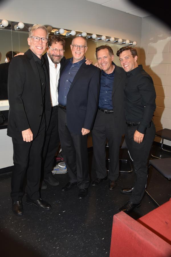 Steve Hauk, David Staller, Bil Kux, Victor Slezak and Jordan Ahnquist Photo