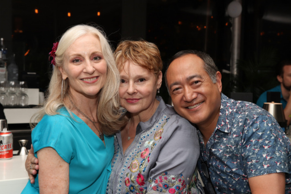 Elizabeth Ward Land, Linda Balgord, Alan Muraoka Photo