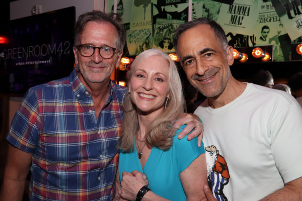 Tim Pinckney, Elizabeth Ward Land, David Pittu Photo