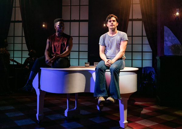 Tyrone Huntley & Andy Mientus Photo