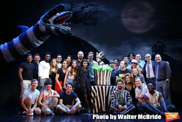 Photo Coverage: BEETLEJUICE Celebrates 100 Performances on Broadway!
