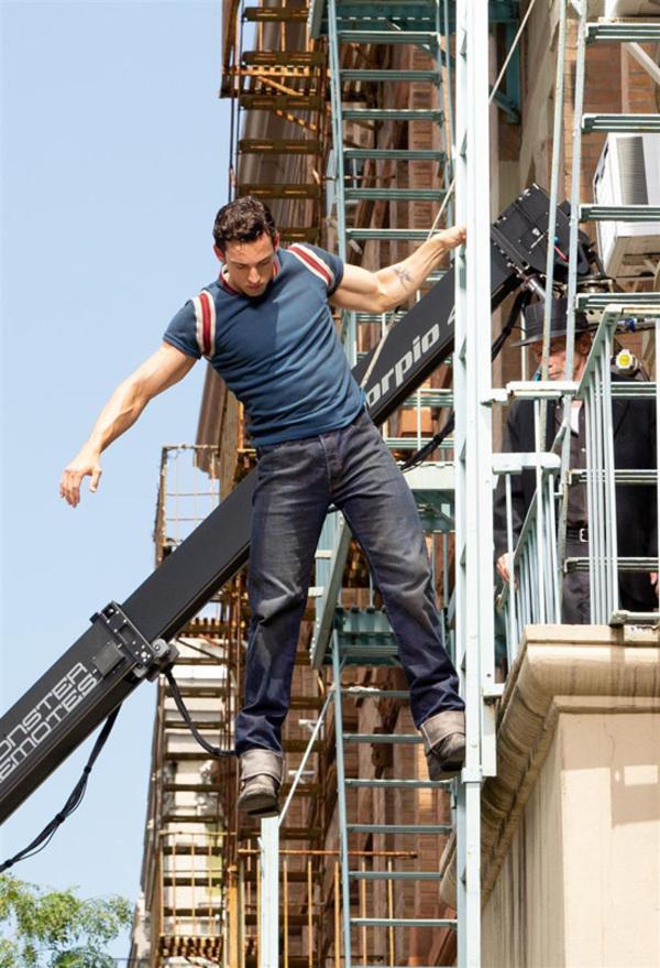 PHOTO FLASH: El remake WEST SIDE STORY se rueda en Nueva York